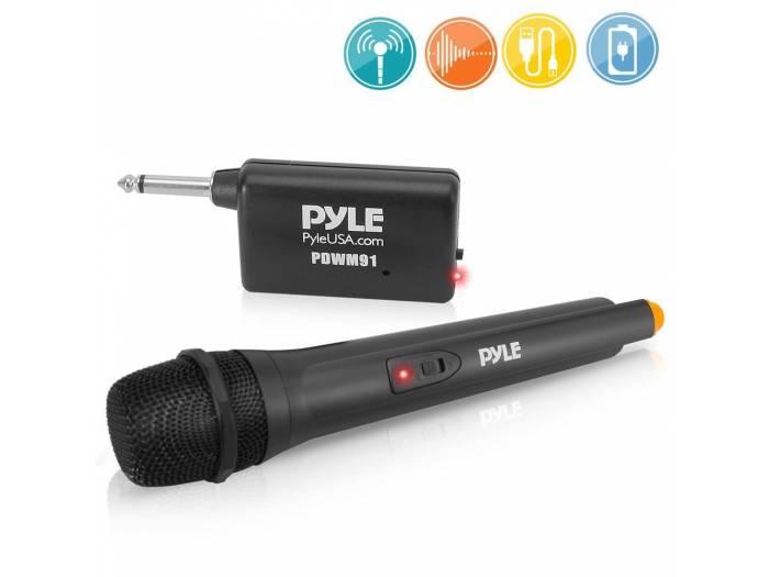 microfono inalambrico pyle de mano