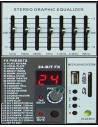 AMS  AMX1624USB - Mezclador de directo 12 canales DSP